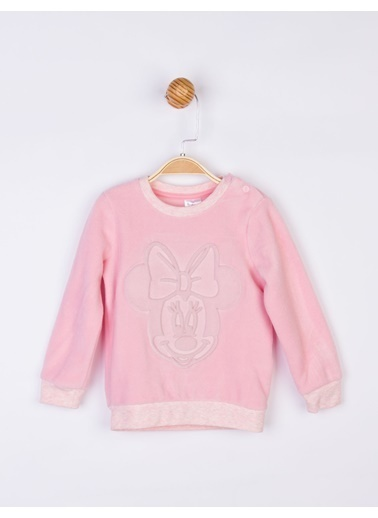 Minnie Mouse  Polar Sweatshirt 17741 Pembe